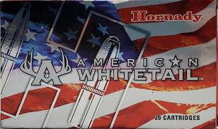 20 Rounds Of Hornady American White Tail 7mm Rem