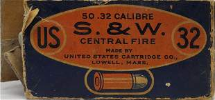Approx 33 Rounds Of S&W .32 Caliber Ammunition
