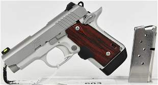 Kimber Micro 9 Stainless W/ Laser Grips