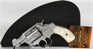 Smith & Wesson Pre Model 36 Nickel .38