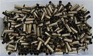 5.6 Lbs of .38 Special Nickel Empty Casings For