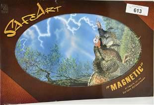 Safe Art Magnetic Turkey Stamp NEW