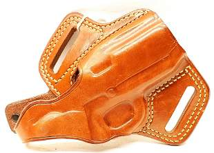 Galco FL424 Brown Leather Pistol Holster