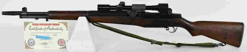 M1D Sniper Garand Rifle W/ M84 Telescope RARE M1E8