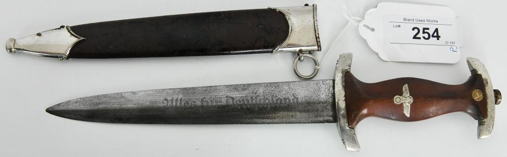 German WWII SA Enlisted Dagger, RZM M7/81 Karl