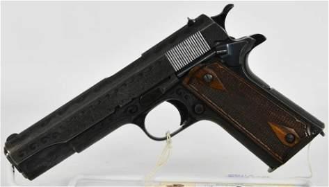 Stunning Engraved Colt Goverment Model 1911 .45