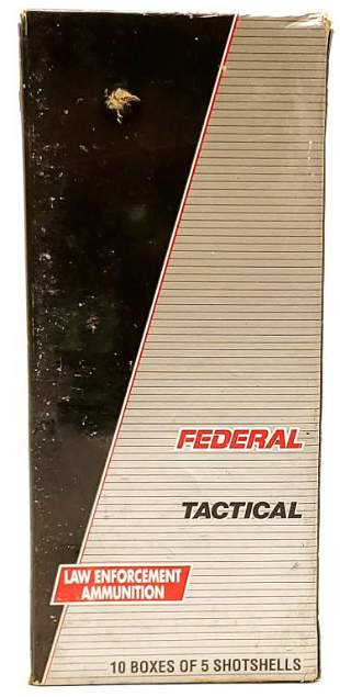 50 Rounds Of Federal Tactical 12 Ga Shotshells
