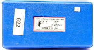 The Kimber Platinum .22 Caliber Conversion Kit