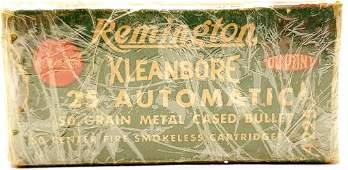 50 Rounds Of Remington .25 Auto Ammunition 50