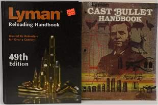 Lot of 2 Lyman Reloading Books