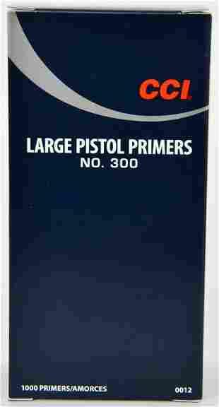 1000 CCI Large Pistol Primers No. 300