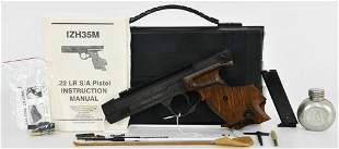 Russian IZH-35M Sport Target Pistol .22 LR