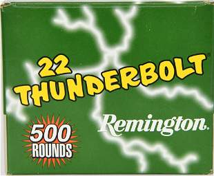 500 Rounds Remington Thunderbolt .22 LR Ammunition