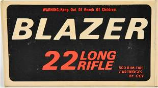 500 Rounds Of CCI Blazer .22 LR Ammunition