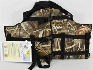 New Cabela's L/XL Life Vest Realtree