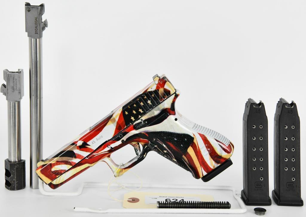 Glock 21 Semi Auto Pistol W/ Conversion BBL's