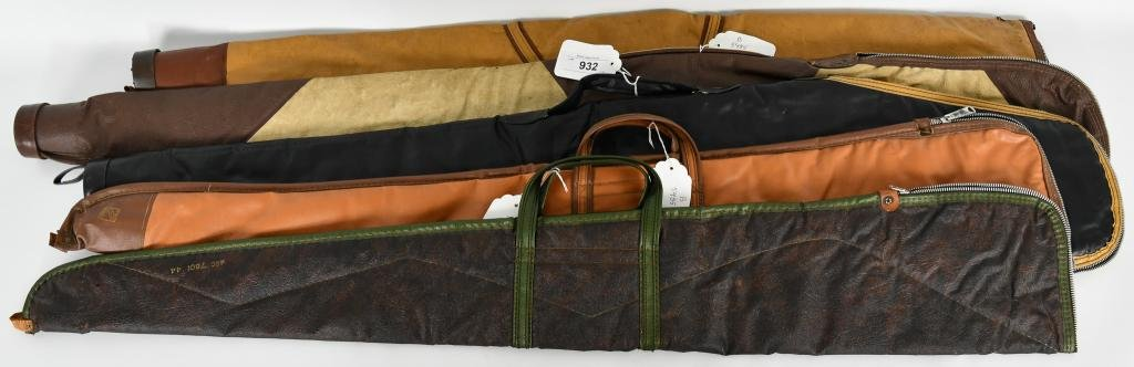5 Vtg Rifle / Shotgun Cases