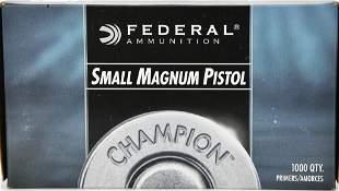 1000 Federal Premium CF Primers Sm Mag Pistol