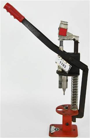 Mec Model 250 Single Stage Reloading Press