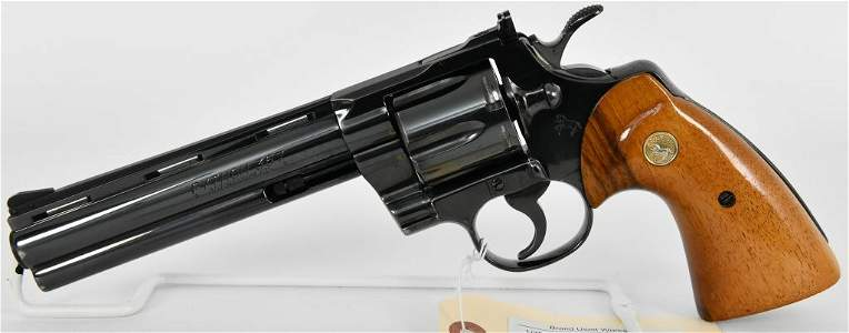 """Gorgeous Colt Python .357 Magnum 6"""" Barrel 1978!"""