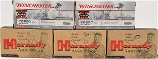 100 Brass Casings 80 are 22250 and 20 are 358 win