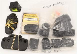 Lot of Base Plates and 44 mag speed strips