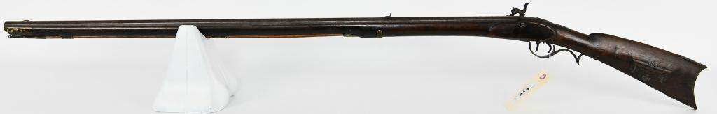 1840's Indian Chief's Percussion Rifle .40 Cal