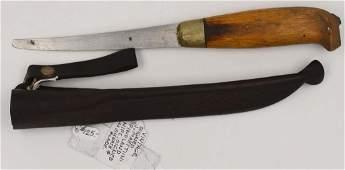 Antique Mid Century Modern Fish Filet Knife J