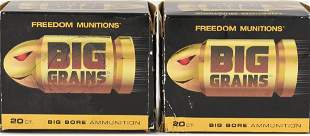 40 Brass Casings 458 SOCOM Freedom Munitions