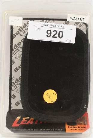 Bulldog Cases Wallet Holster Black