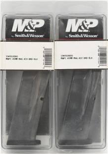 2 SW MP C 45MM Mags NIP ASY 8 rd Black