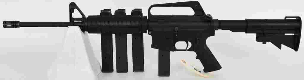 Law Enforcement Colt Semi Auto AR-15 Rifle 9MM