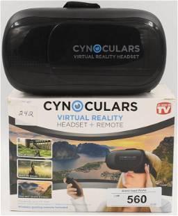 Cynoculars Virtual Reality Headset Remote