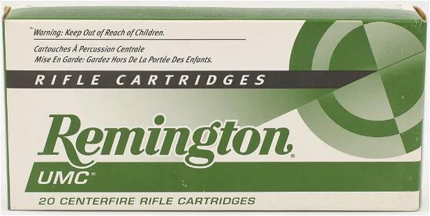 20 Rounds Of Remington 22250 Ammunition