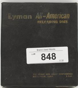 2 Lyman 3006 Full Length Reloading Dies