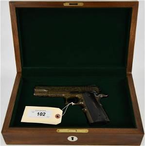Engraved RARE Beryllium Safari Arms Prototype 1911