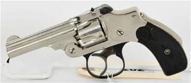 Smith  Wesson Safety Hammerless 3rd Model 32