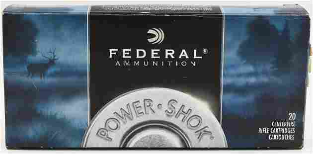 20 Rounds Federal PowerShok 375 HH Mag Ammo
