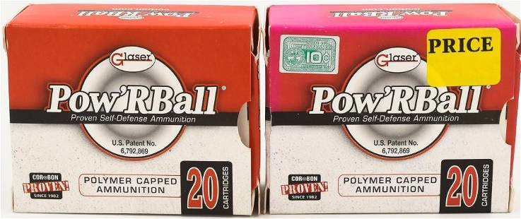40 Rounds Of Glaser PowRBall 10mm Auto Ammo
