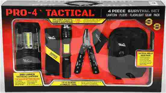 New In Package Pro4 Tactical Survival Set 4