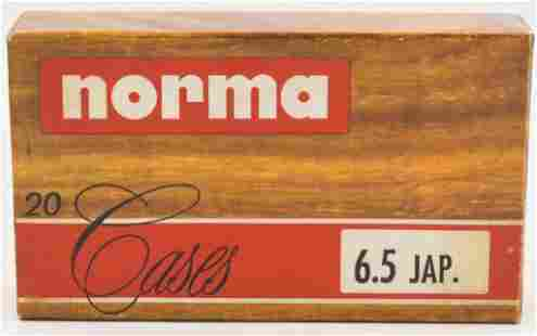 20 Count Of Norma 65 Japanese Umprimed Cases
