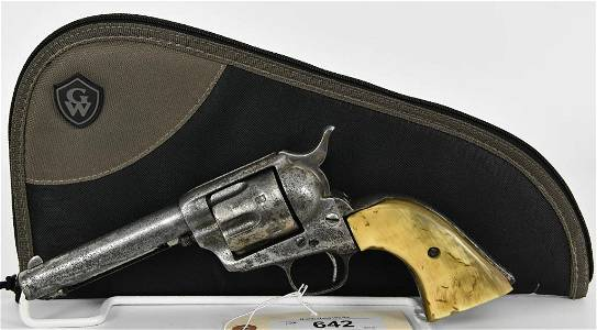 Colt Single Action Army Revolver Dates to 1880