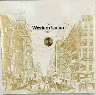 The Western Union Story New Sealed Hardcover