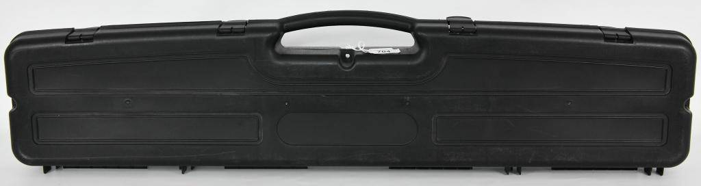 Rifle Shotgun Padded Polymer Hardcase Blk