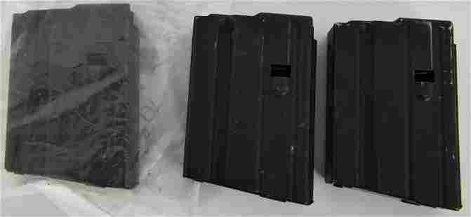 3 ASC 10 rd 65 SS Black Mags wblue follower
