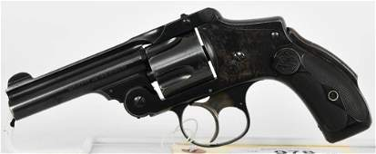 Smith  Wesson Safety Hammerless 5th Model 38