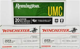 60 Rounds Of .223 Rem Ammunition