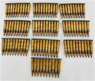 100 Rounds Of M855 Green Tip 5.56mm Ammunition