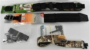 Lot of Various Size Rifle Slings