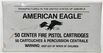 50 Rounds Of American Eagle .45 Auto Ammunition